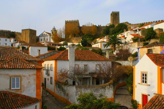 Obidos View XII by FilipaGrilo