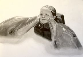 Dolphins Number 1 by Jon-Wyatt