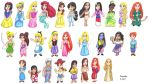 Disney Girls by Cpr-Covet