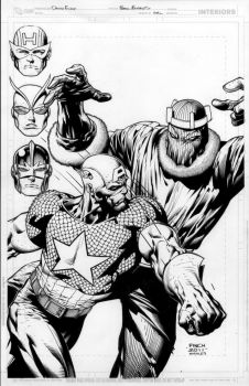avengers commission by MarkMorales