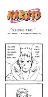 Naruto Doujinshi - Sleeping Time by SmartChocoBear