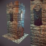 Castle Tower! by samdrewpictures