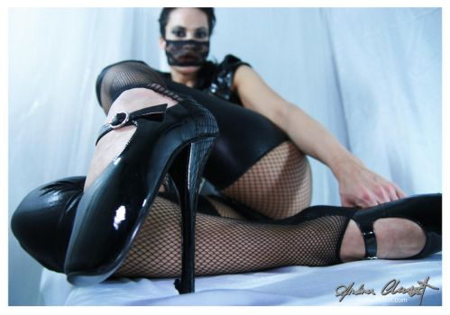 Tess - pvc and ballet shoes by auxcentral