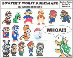 Bowser's Worst Nightmare by Colonel-Majora-777