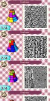 Animal Crossing New Leaf QR Code: The Tetdress by SuperSherbet