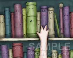 Left On The Shelf - gorjuss by childrensillustrator