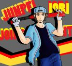 JUNPEI IORI JOINS THE FIGHT!! by Hincaru