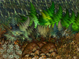 The Fractal Forest by kofferwortgraphics