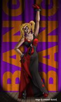 Evening Gown Harley by LadyNyaruInfinity