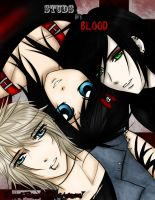 Studs In Blood Cover by NikkieHale