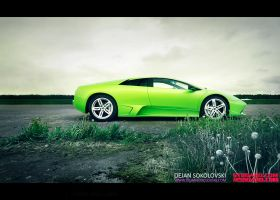 Murcielago LP640 - green devil by dejz0r