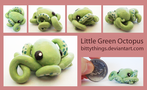 Little Greentopus - SOLD by Bittythings