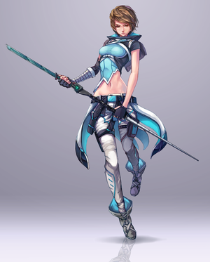 Commission: Aven (redesign outfit) by Himenyuu