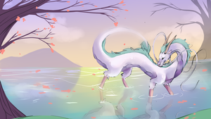 [ White Dragon ] by Snickerdoods