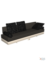 Living Monaco Sofa [XPS] by LexaKiness