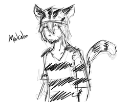 Malcolm sketch by hugfiend