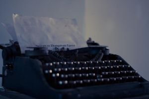 Typewriter. by omagill