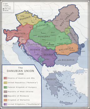 MotF 144: Res Publica - The Danubian Union by Chickennoodleman