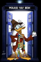 Fourth Doctor - Fethry Duck by fernalf