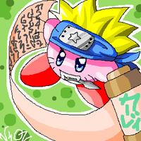 naruto kirby by Chimykal-girl
