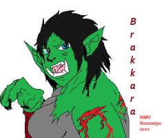 World of warcraft Orc - Brakkara WIP by SpaceRanger108