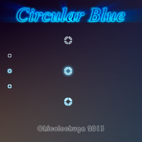 Circular Blue by ChicoLechuga by ChicoLechuga