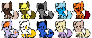 Adoptables 4 by Adopt-s