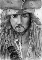 captain Jack sparrow AWE by LessienLossehelin