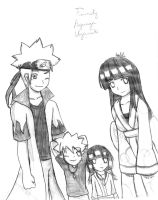 Old Artwork - Family Hyuuga Uzumaki by the88cherryice