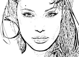 Angelina Jolie.. by ladyjart