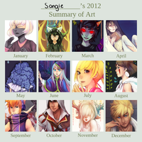 2012 Art Summary by Sangcoon