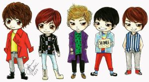 ShInEe by curlymobb