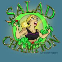 Salad Champion by daerave