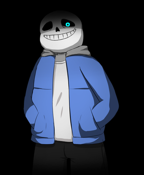 Sans Bad Time - Undertale by xMakao