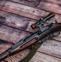 1944 Tula PU Mosin Nagant Side Profile by spaxspore