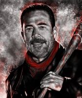 Negan black/red ver by p1xer