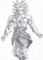 Broly by jetg10