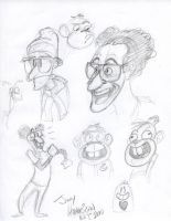 Dilworth Doodles by jimferno