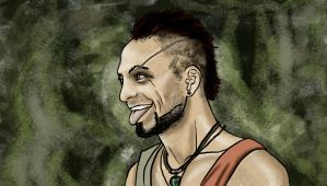 Fanart Vaas Montenegro Far Cry 3 by ferriore