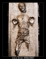Star Wars Exhibit Carbonite by Shadrak