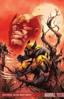 WOLVERINE COVER by sjsegovia
