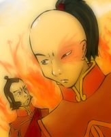 Prince Zuko and the General by AkuTaco