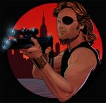Snake Plisken by amherman