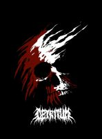 Detritum: Bleeding Skull by gojera