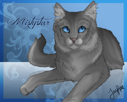 Mistystar of RiverClan by xxMoonwish
