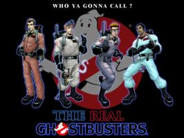 The Real Ghostbusters by TheGhostLantern