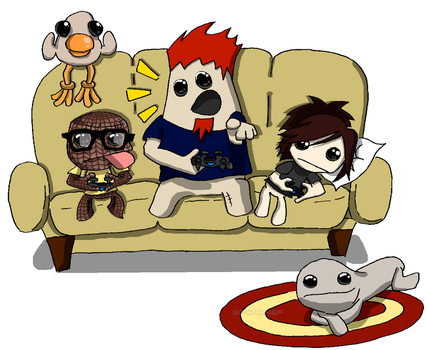 LBP3 Playing With Friends by sackchief