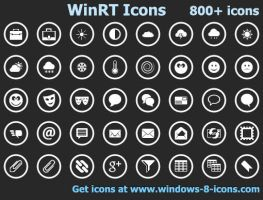 WinRT Icons by Ikonod