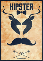 Hipster Poster by SpEEdyRoBy
