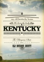 Kentucky Poster + Print by zstout